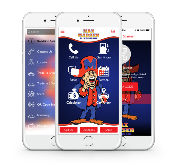 Download our Max Madsen Mitsubishi Smartphone App